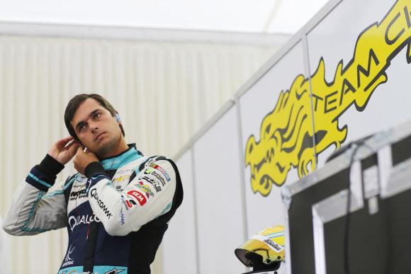 Нельсон Пике в китайской команде China Racing