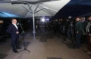 ePrix9 Москва, гала-ужин, Валентин Бухтояров выступает с речью