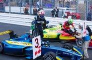 ePrix7 Monaco. Финишь: лидеры Буэми и Лукас ди Грасси
