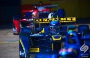 Берлин 2015, ePrix8. Николя Прост в гонке за команду edams