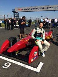 Нельсон Пике в команде China Racing
