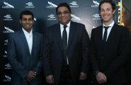 ePrix9 Москва, гала-ужин, Босс Махиндры Дильбаг Джилл и пилоты: Чандхок и Сенна