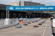 Берлин 2015, ePrix8, Старт