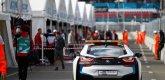 ePrix9 Москва, гонка, сейфти кар, вид сзади :)