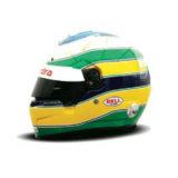 Шлем пилота: Бруно Сенна (Bruno Senna)