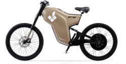 greyp G12 - гибридный мото-велосипед с электродвигателем