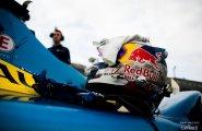 Берлин 2015, ePrix8, шлем Себастьяна Буэми перед гонкой