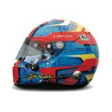 Шлем пилота: Лоик Дюваль (Loic Duval)