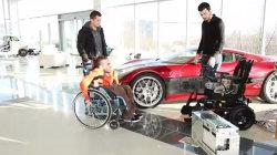 Тюнинг электрического инвалидного кресла от фирмы Rimac
