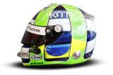 Шлем пилота: Лукас ди Грасси (Lucas di Grassi)