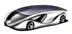 Электромобили с солнечными батареями