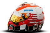 Шлем пилота: Карун Чандхок (Karun Chandhok)