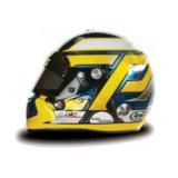Шлем пилота: Антонио Гарсия (Antonio Garcia)