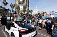 Cейфти-кар BMW-i8 (Машина безопасности)