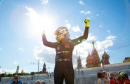 ePrix9 Москва, гонка, Пике победитель