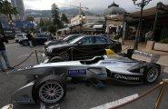 ePrix7 Monaco припаркованный болид ФЕ