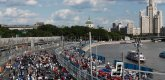 ePrix9 Москва стартовая решетка, сразу перед стартом