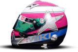 Шлем пилота: Микела Черрути (Michela Cerruti)