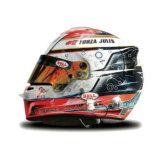 Шлем пилота: Жан-Эрик Вернь (Jean-Eric Vergne)