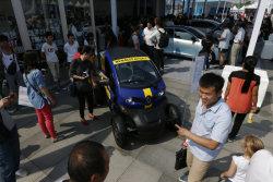 Продажи электромобилей на Западе растут