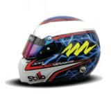 Шлем пилота: Стефан Сарразин (Stephane Sarrazin)