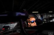 Monaco Formula E. Сэм Берд готовится к практике.