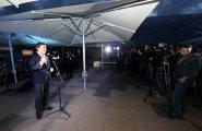 ePrix9 Москва, гала-ужин, Агаг выступает с речью