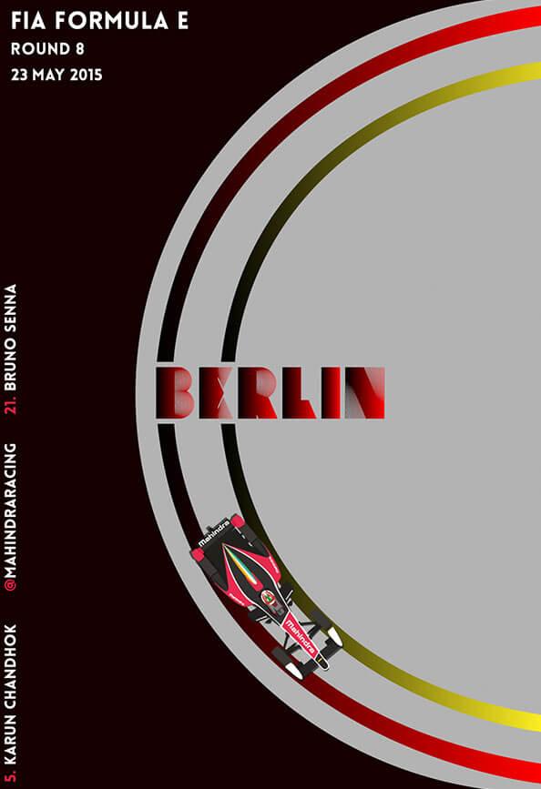 Постер восьмого этапа в Берлине