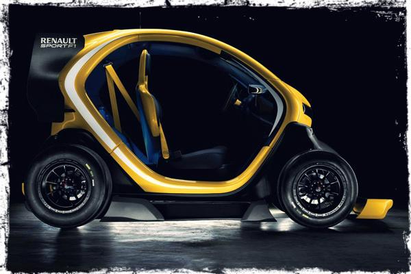 """Электромобиль сверхмалого класса, построенный по """"формульным"""" технологиям - RenaultTwizyF1."""