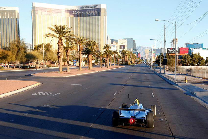 Формула Е уже приезжала в Америку: демо-заезд в Лас-Вегасе