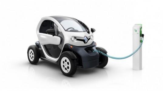 RenaultTwizy ‑ один из самых популярных французских электромобилей.