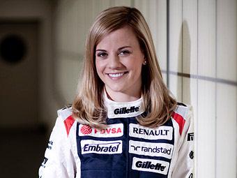 Сьюзи Вольфф - профессиональный гонщик из Шотландии