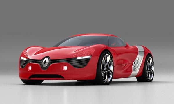 Концепт-кар Renault Dezir - полностью электрический автомобиль