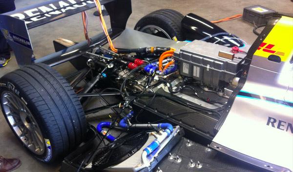 Аккумуляторы Williams для электромобилей Формула Е
