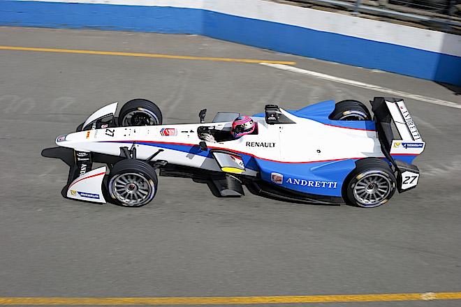 Франк Монтаньи в Формуле Е в команде Andretti