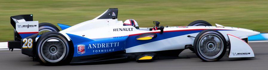 Электромобиль команды Andretti в Формуле Е