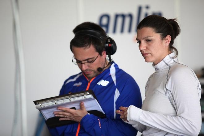 Катерина Легг в Формуле Е 2014 год