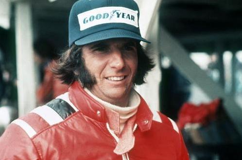 Двукратный чемпион мира Формулы 1 Эмерсон Фиттипальди с бакенбардами