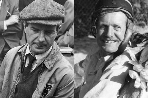 Джо Фрай и Туло де Граффенрид, гонщики Формулы 1 в 1950 году