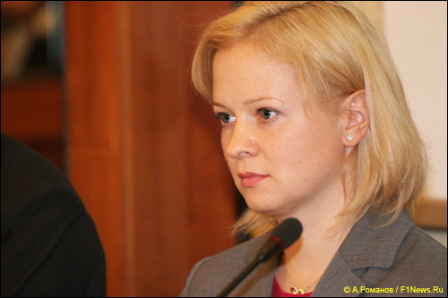 Светлана Коршунова, организатор Формулы Е в России. Фото: F1News.ru
