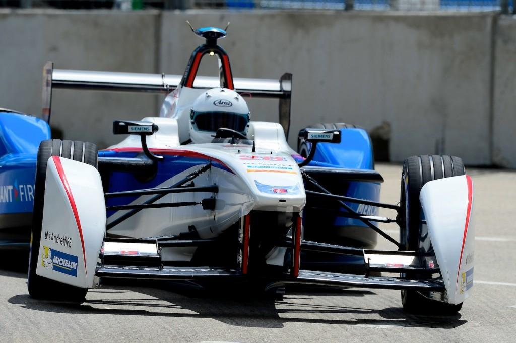 Скотт Спид в гонке в Майами, Формула Е