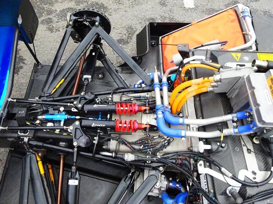 Так выглядит подвеска Формулы Е