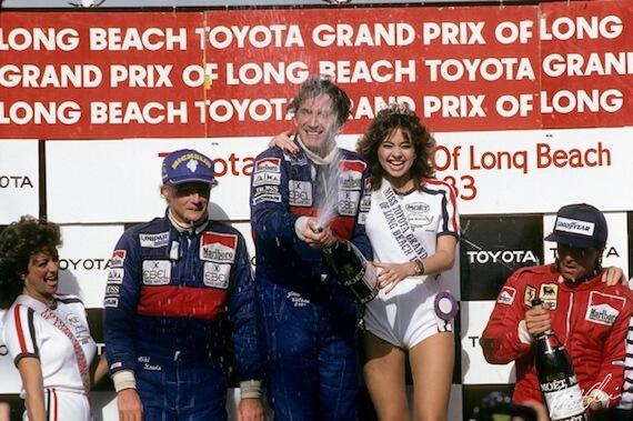 Джон Уотсон, победитель Гран-при США в Лонг-Бич, Ф1