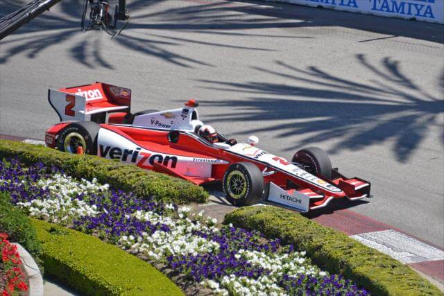 Мотнтойя выступал в Лонг-Бич в серии Indycar и в 2014 году. Спустя 15 лет после своей победы
