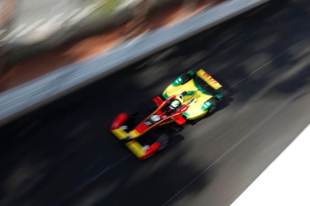 ePrix7 Monaco. ди Грасси.