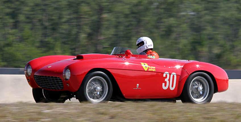"Ferrari Mondial в Марокко, ""12 часов Касабланки""."